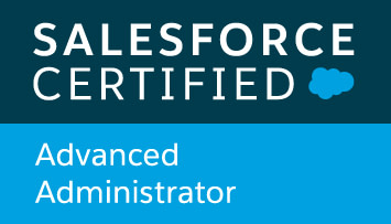 Saleforce Certified Advanced Adminstrator
